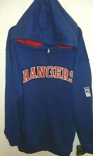 NEW YORK RANGERS MENS 2X FULL ZIP SWEATSHIRT MAJESTIC NEW