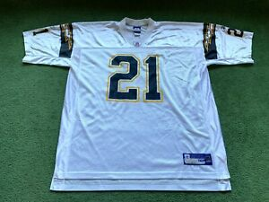 MENS REEBOK LOS ANGELES CHARGERS #21 TOMLINSON NFL FOOTBALL JERSEY SIZE 2XL