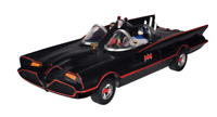 DC Comics Batman and Robin Action Figures Classic TV Series Batmobile Kids Toy