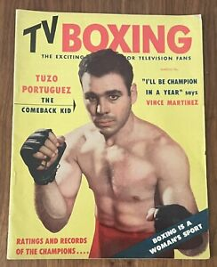 TV Boxing Magazine (March, 1954)