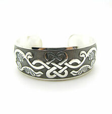 New Tibetan Tibet silver Totem Bangle Cuff  Bracelet  -CELTIC KNOTWORK DESIGN
