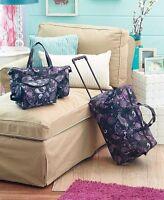 Kids Travel Luggage Set Rolling Duffel Bag Tote Toiletry Bag For Girl Teen Women