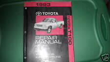 1993 Toyota T100 TRUCK T 100 Pick Up Service Shop Repair Manual OEM FACTORY