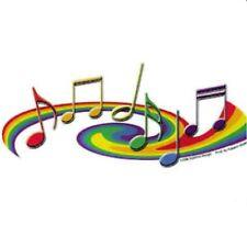 Gay Pride Music Bumper Sticker