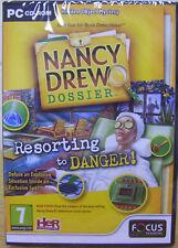 NANCY DREW RESORTING TO DANGER ( PC GAME ) NEW SEALED