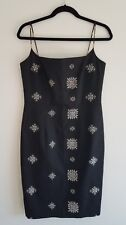 laundry by shelli segal dress women's size 10 sleeveless vintage 90s