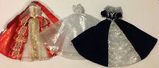 Collection Assorted Holiday Gowns Vintage 1990s Barbie Gowns Clothes Shoes