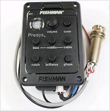 New Fishman 201 4-Band EQ Guitar Equalizer Acoustic Guitar Preamp Piezo Pickup