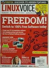 Linux Voice Freedom Switch Software Purge PC Android Dec 2015 FREE SHIPPING JB