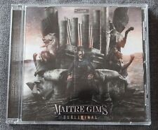 Maitre Gims, subliminal, CD