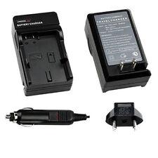 EN-EL3E Home & Car Battery Charger for Nikon D80 D90 D200 D300 D300S D700
