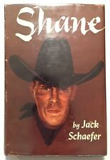 Shane - Jack Schaefer Rare Western 1st Edition Early Printing 1949 Binding Error