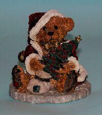 "Boyds Bears resin ""Grenville The Santa Bear"" # 2030 NIB 1993 retired Christmas"