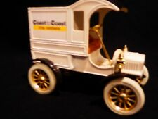 Vintage Coast to Coast Delivery Car Bank by ERTL Metal with Plastic