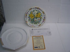 plate ltd edition comfort and joy by royal grafton  from the bradford exchange