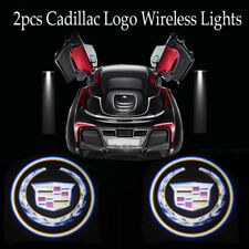 New listing 2x Auto Door Light for Cadillac Car Led Logo Projector Ghost Shadow Laser Lights