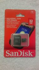 Sandisk 32gb Micro SDHC Memory Card With Adapter