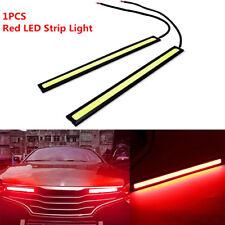 17cm 12V COB LED DRL Strips Car Fog Daytime Running Driving Red Lights Bar