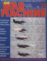 War Machine magazine Issue 35 A guide to the World's Air-to-Air missiles