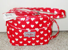 RARE!! Cath Kidston London Girls Red Heart Messenger Crossbody Shoulder Handbag