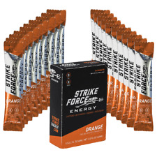 Strike Force Energy - 10 Count Box ORANGE - Sugar/Calorie Free Liquid Drink Mix