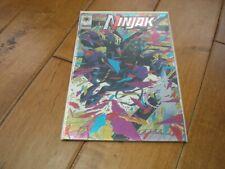 Ninjak #1 (1994 Series) Valiant Comics Joe Quesada Chromium Wrap Cover VF/NM