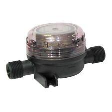 """JABSCO Fresh Water Pump Inlet Strainer W/ Thread Connection 15mm 1/2"""" 46400-0004"""