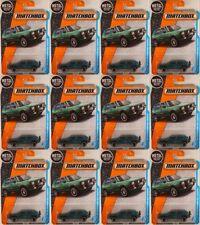MATCHBOX #4 '90 VW Golf Country 'Montana Green' w/5-spoke wheels ● LOT of 12x