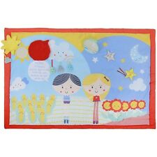 Eastcoast Baby Sensory Say Hello Friends Double-Sided Activity Mat - From Birth