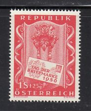 Austria 1956 MNH Mi 1029 Sc B297 Stamp Day