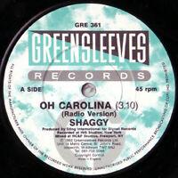 """Shaggy – Oh Carolina Vinyl 7"""" Single UK GRE 361 1993"""