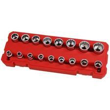 "17 piece 3/8"" drive Socket Set with Storage Case"