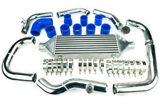FRONT MOUNT AUDI A3 A4 A6 TT SKODA OCTAVIA VRS 1.8T TURBO INTERCOOLER KIT BLUE