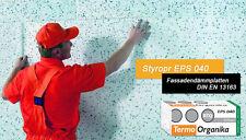 Vollwärmeschutz Fassadendämmung Außendämmung Styropor WLG EPS 040 / 80mm