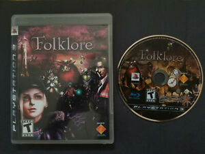 Folklore PS3 - Sony PlayStation 3, 2007 CIB Tested
