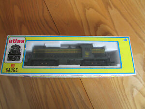 Atlas/Kato Limited Edition HO ALCO RS-1, Central of New Jersey Locomotive