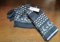 M&S Hat, Scarf & Gloves Set - Age 6-10 Years - New