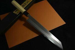 Japanese Chef knife Ikyu by Itsuo Doi Shirogami White 3 Kiritsuke 270mm *F/S*