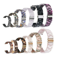 Luxury Tortoise Shell Resin Watch Bands Strap Bracelet For Apple Watch 3/4 38mm