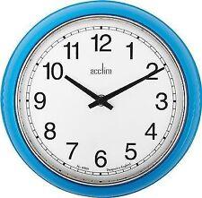 Acctim 27379 Lorene Wall Clock Blue 240mm Diameter
