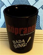 THE SOPRANOS BADA BING BLACK SHOT GLASS #2 NEW UNUSED