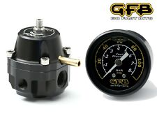 GFB FX-R Race Adjustable Fuel Pressure Regulator & Gauge Petrol Ethanol Diesel