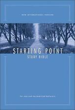 NIV Starting Point Study Bible