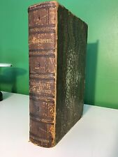 1855 Complete Works Of William Shakespeare Poems & Plays Illustrated Leather