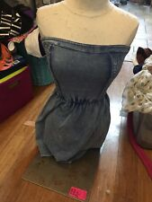 abercrombie and fitch Nwt small Blue Strapless Dress