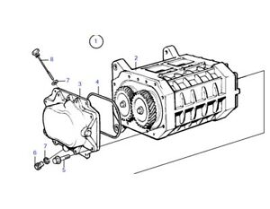 Volvo Penta KAD 32 43 44 300 KAMD Supercharger Compresser Kompresser 23119190