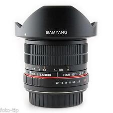 Samyang 8mm f/3.5 Aspherical IF MC Fish-eye CS II for Pentax