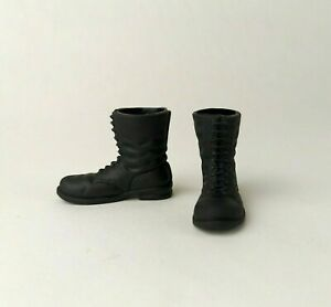 21st Century Toys 1/6 Scale WWII German Black Boots For Most 12inch Figures GI