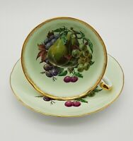 "Royal Grafton ""Pears & Grapes"" Tea Cup And Saucer"