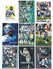 Lot of 12 Emmitt Smith Cards 1991-2013; NM-Mint; Dallas Cowboys